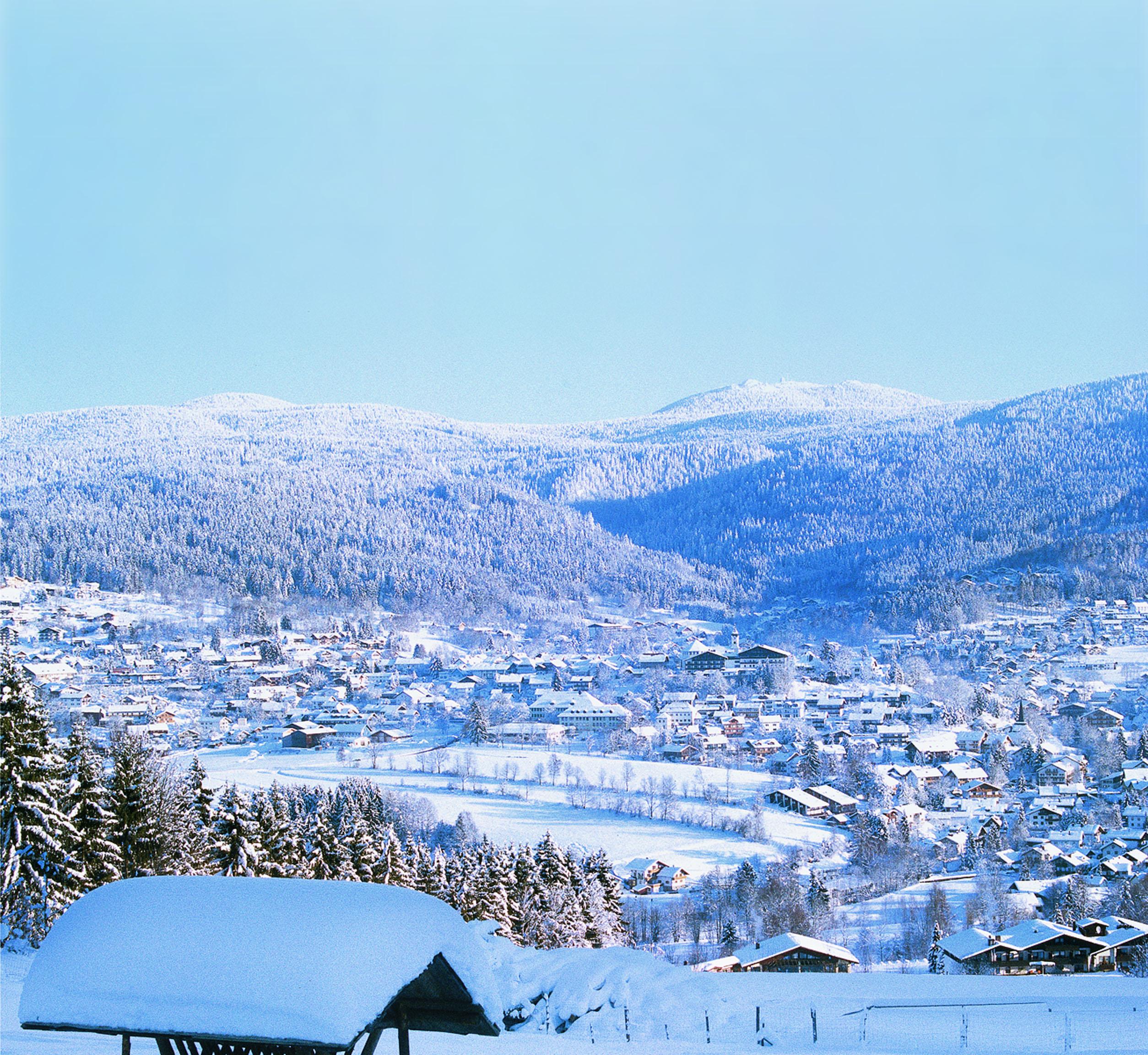 Skigebiet Sankt Oswald Riedlhütte Langlaufzentrum