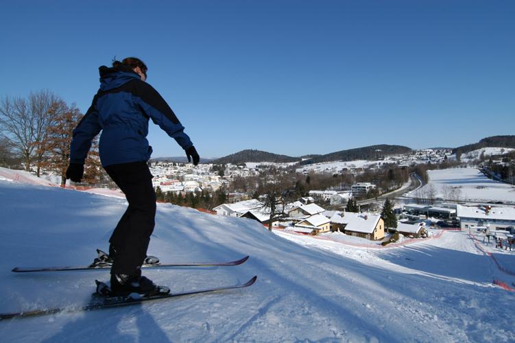 Skigebiet Grafenau Piste