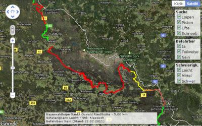 Bayerwaldloipe Arberland Nationalparkregion